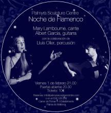 Cartel Noche de flamenco