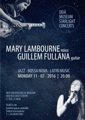 Poster Mary Lambourne & Guillem Fullana